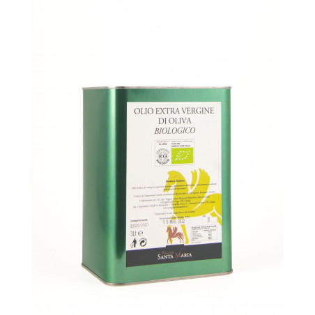 Extra virgin olive BIO oil - cans of 3l