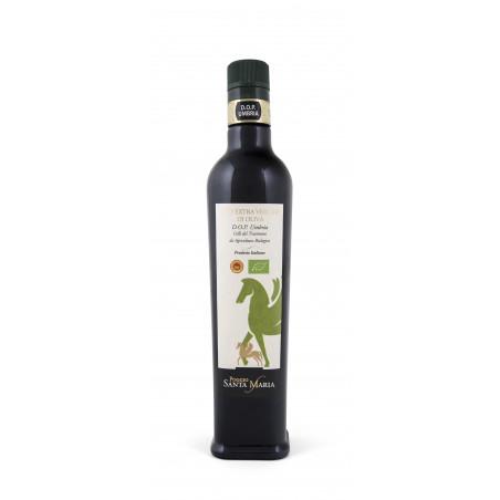 Bottles of extra virgin olive BIO oil DOP - Colli del Trasimeno